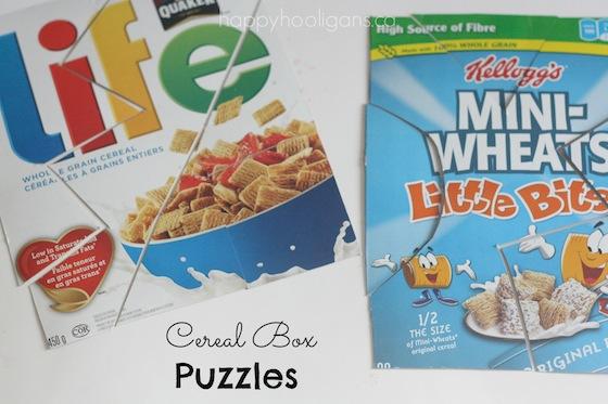 puzzle caja cereal