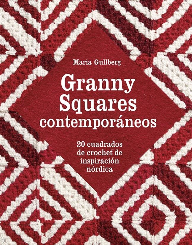 Portada libro granny squares contemporáneos