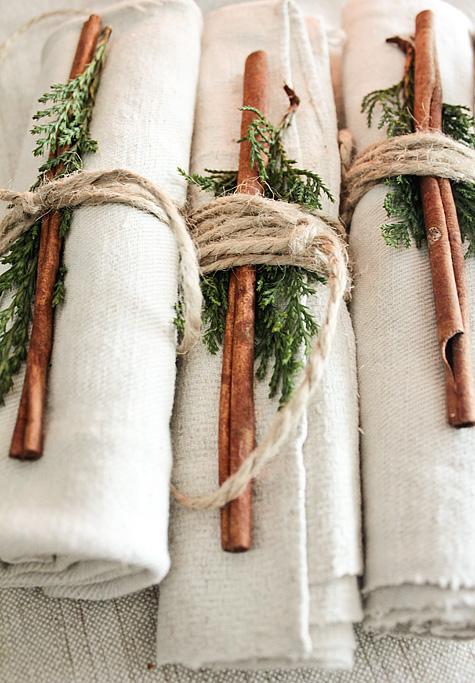 servilletas decoracion mesa navidad