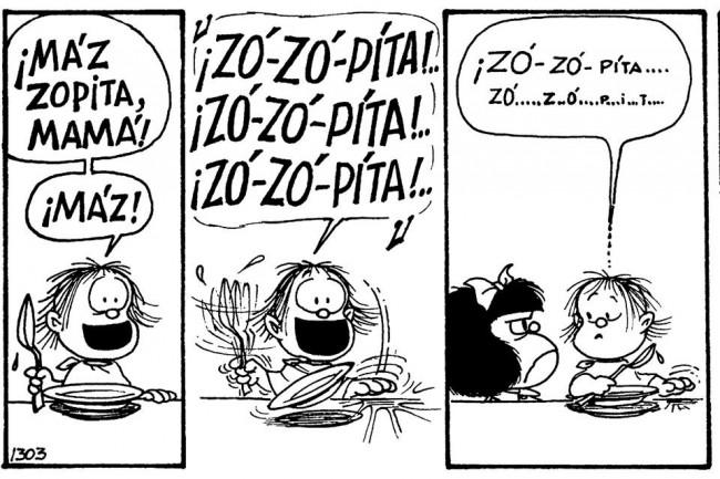 comic mafalda sopa
