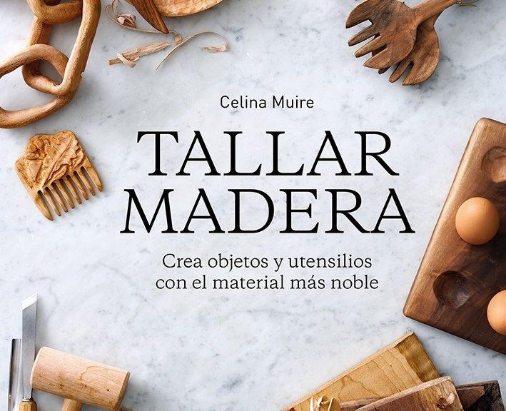 portada del libro tallar madera