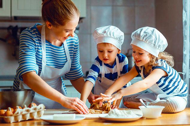Batch cooking con niños