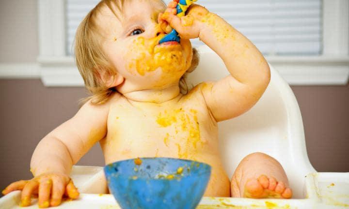 blw niño comiendo