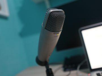 microfono podcast
