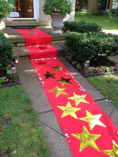 alfombra roja redtri