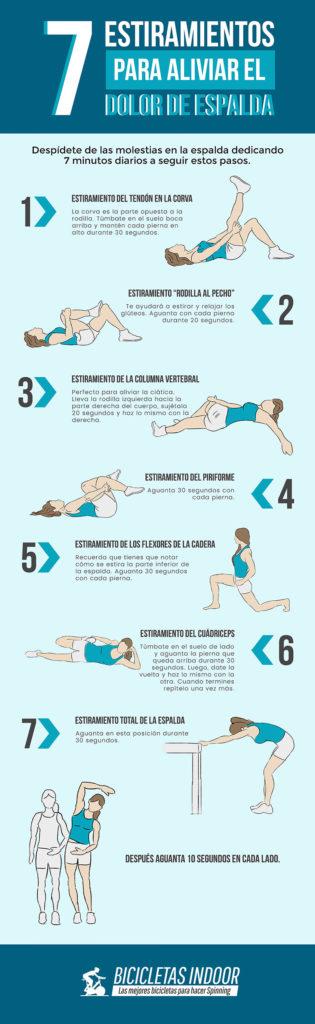 estiramientos dolor de espalda