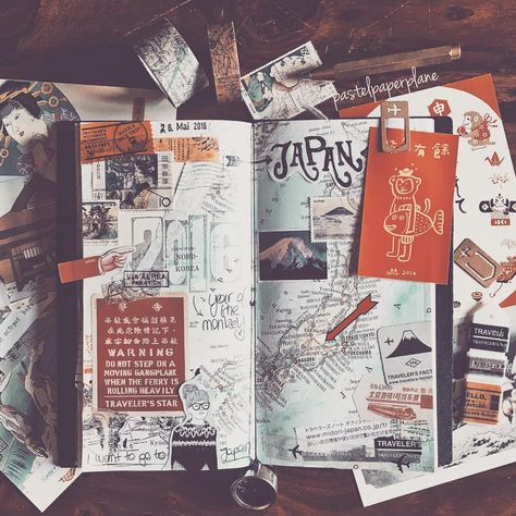 japan scrapbook