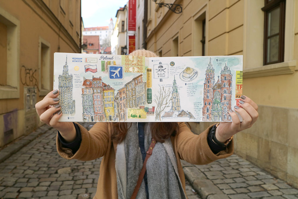 scrapbook ciudad