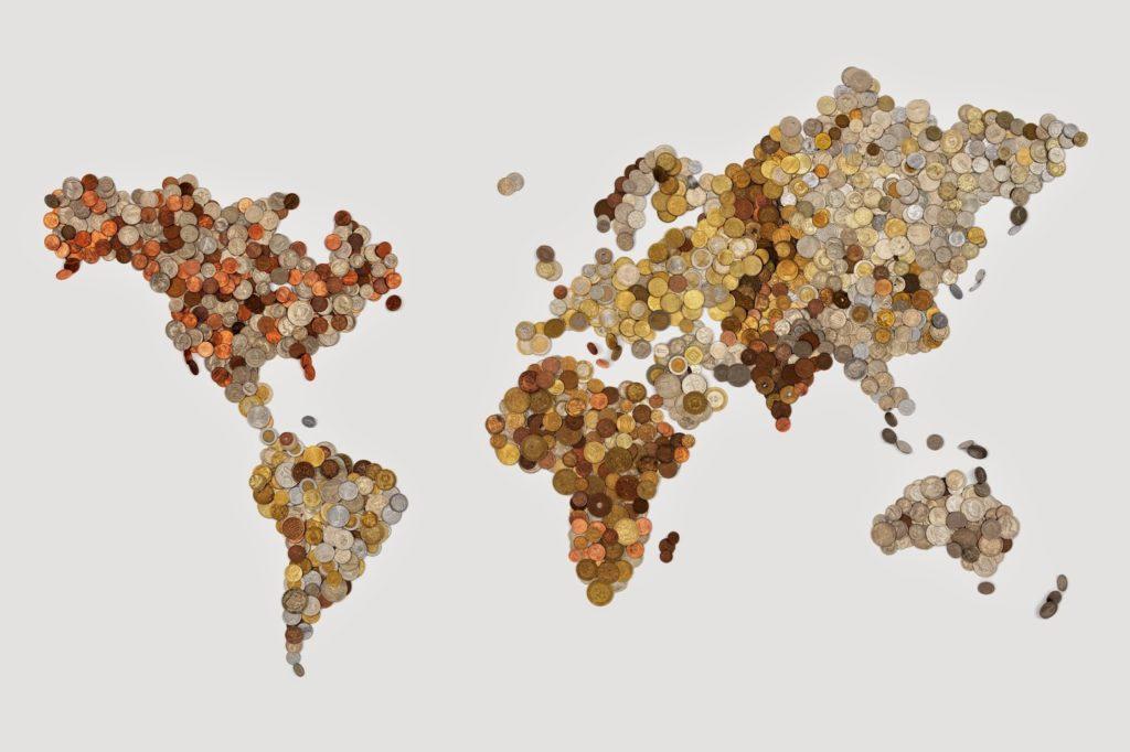 mapa del mundo meridianos