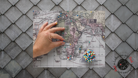 mapa del mundo post