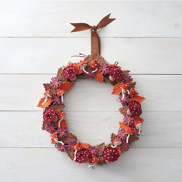 tejer Autumn Wreath by Kate Eastwood