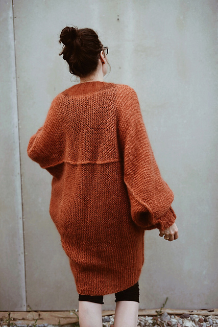 Sunday oversize cardigan by Neringa Ruke