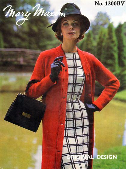 Coat and Dress Pattern by marymaxim