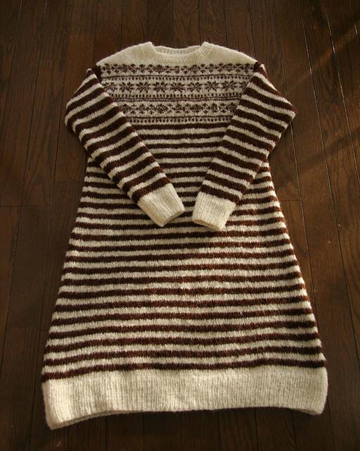 Dress with stripesby Saichika