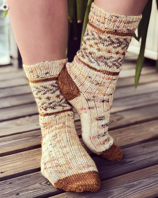Waiting for Henry Socks by Tabitha Gandee
