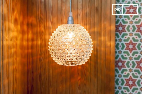 lampara de vidrio wagram