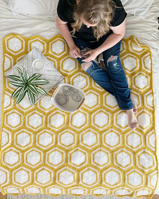 The Winnie Blanket by Meghan Ballmer