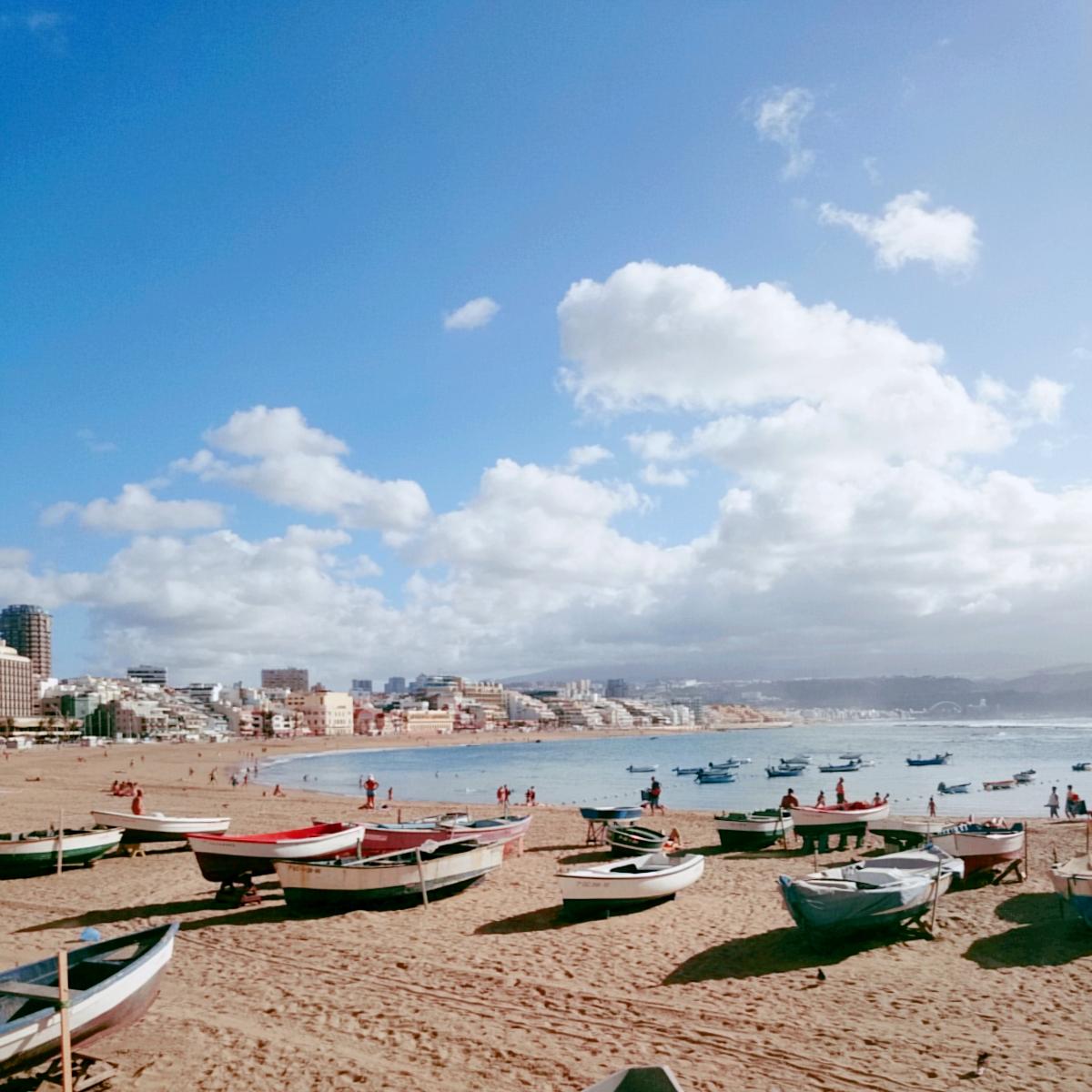 playa de las canteras by siona