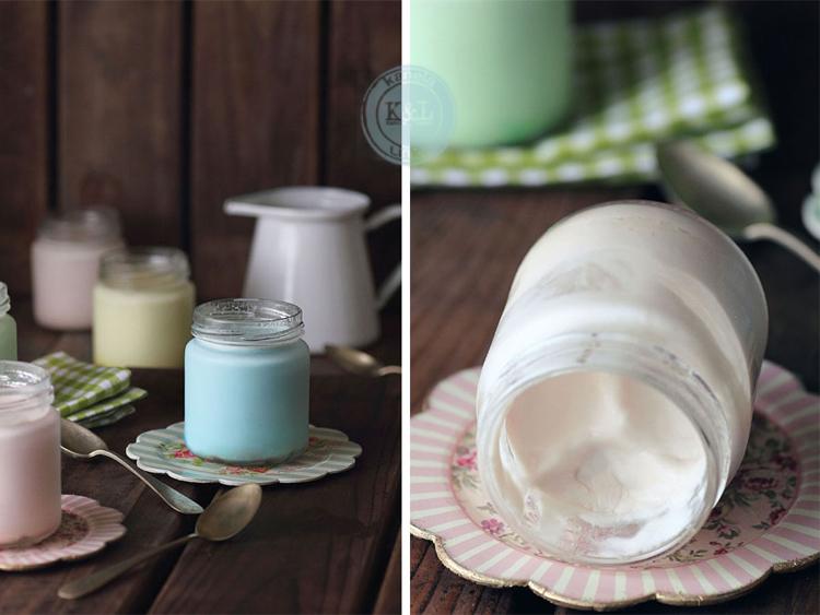 yogur con lacasitos de kanela y limon
