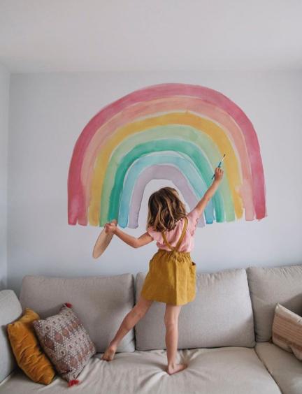 pintar en la pared clarabmartin