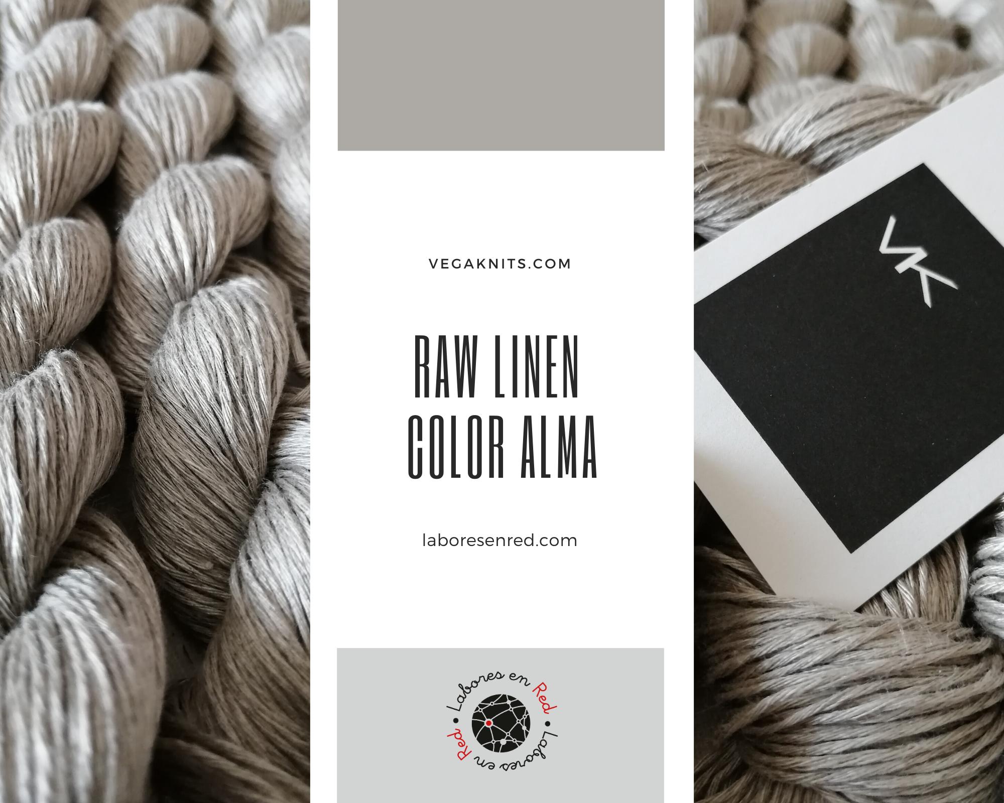 Lino Raw color alma