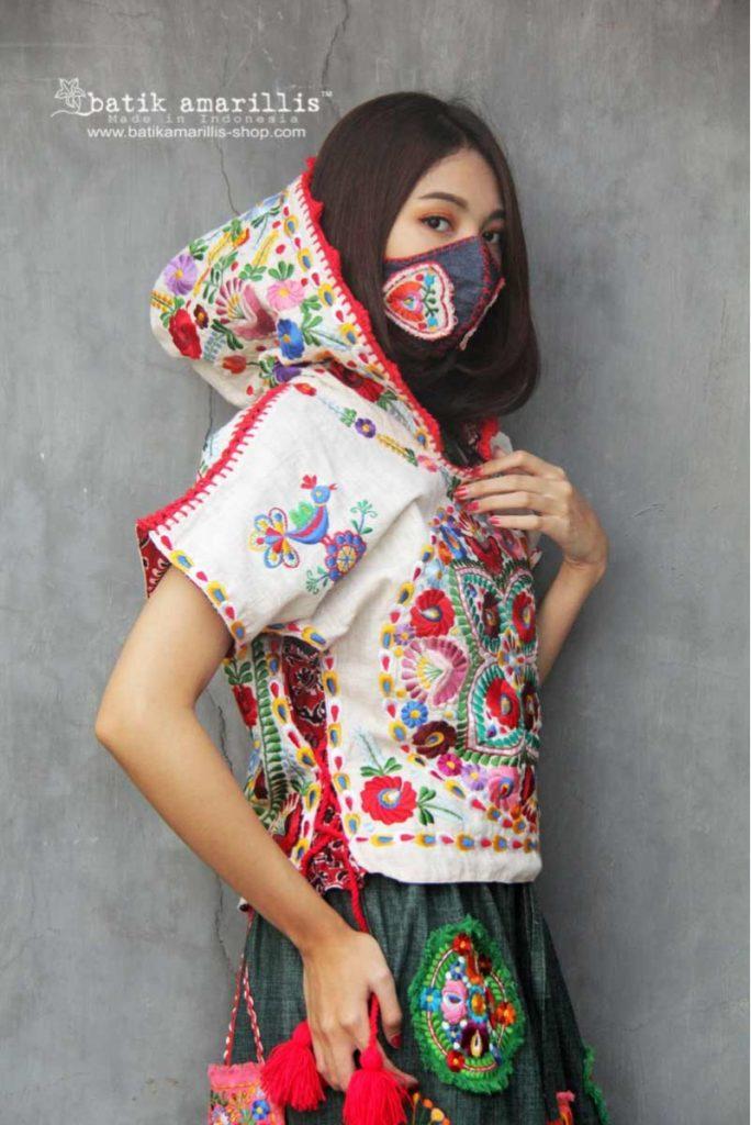 bordar jersey capucha batikamarillis
