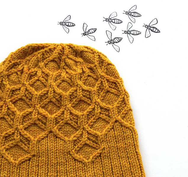 amigo invisible Beeswax Hat by Amy van de Laar