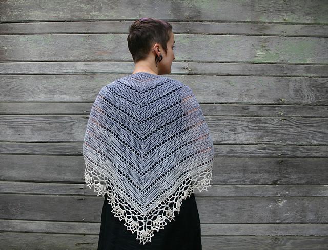 chal tejido Belle Époque crochet