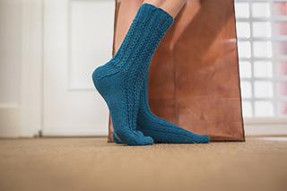 calcetines tejidos waves socks