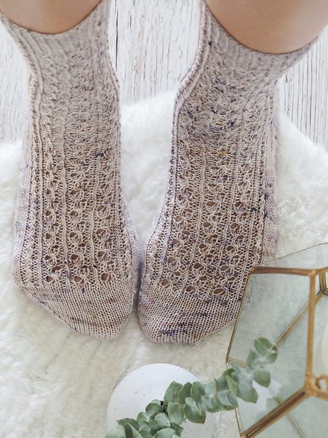 Tejer calcetines Scribbly Gum Socks by Helen Stewart