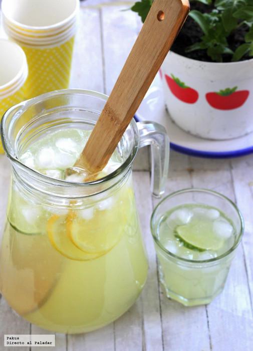 Recetas de verano limonada americana directo al paladar
